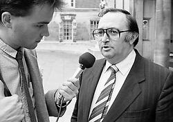 Doug McAvoy, National Union of Teachers General Secretary, October 1985