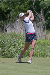 May 6, 2018 - The Colony, TX, U.S. - THE COLONY, TX - MAY 06: Jacqui Concolino (USA) hits from the 4th tee during the Volunteers of America LPGA Texas Classic on May 6, 2018 at the Old American Golf Club in The Colony, TX. (Photo by George Walker/Icon Sportswire) (Credit Image: © George Walker/Icon SMI via ZUMA Press)