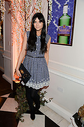 LILAH PARSONS at the launch of Gordon's 'Ten Green Bottles' by Temperley London held at Temperley London Flagship, 27 Bruton Street, London on 6th November 2013.