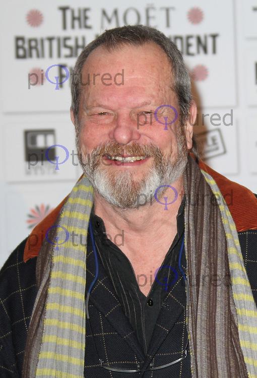 Terry Gilliam The Moet British Independent Film Awards, Old Billingsgate Market, London, UK, 05 December 2010:  Contact: Ian@Piqtured.com +44(0)791 626 2580 (Picture by Richard Goldschmidt)