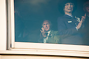 JACKIE STEWART, Hennessy Gold Cup, The Racecourse Newbury. 30 November 2013.