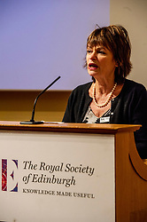 Pictured: Dame Anne Glover, President Royal Society of Edinburgh<br /><br />Professor Sir Anton Muscatelli was joined by Finance Secretary Derek Mackay as he launched his report on how Scotland's higher education sector can maximise its impact on economic growth. Commissioned by Mr Mackay, the report will make recommendations for the sector, industry, the Scottish Government and its agencies<br /><br /> Ger Harley   EEm 27 November 2019