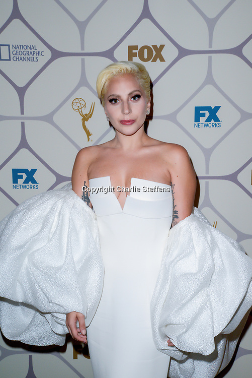 Lady Gaga attends the 67th Primetime Emmy Awards Fox after party on September 20, 2015 in Los Angeles, California. (Photo by: Charlie Steffens/Gnarlyfotos)