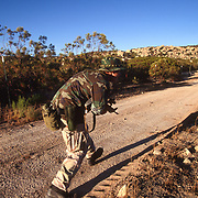 Armed citizens patrol the U.S.-Mexico border in San Diego, California in hopes of stopping the undocumented migrants from crossing their property into the United States. Please contact Todd Bigelow directly with your licensing requests.