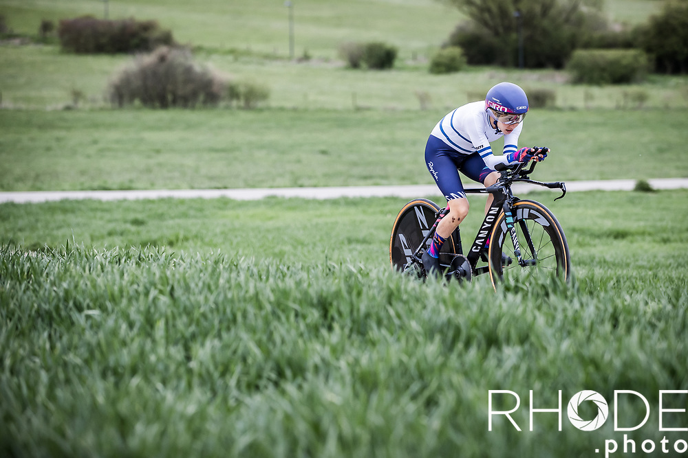 Omer Shapira (ISR/Canyon SRAM)<br /> <br /> Ceratizit Festival Elsy Jacobs (LUX) 2021<br /> UCI Women Elite 2.1<br /> Day 1 - prologue : Individual Time Trial (ITT) – Cessange (LUX) 2.2km <br /> <br /> ©RhodePhoto