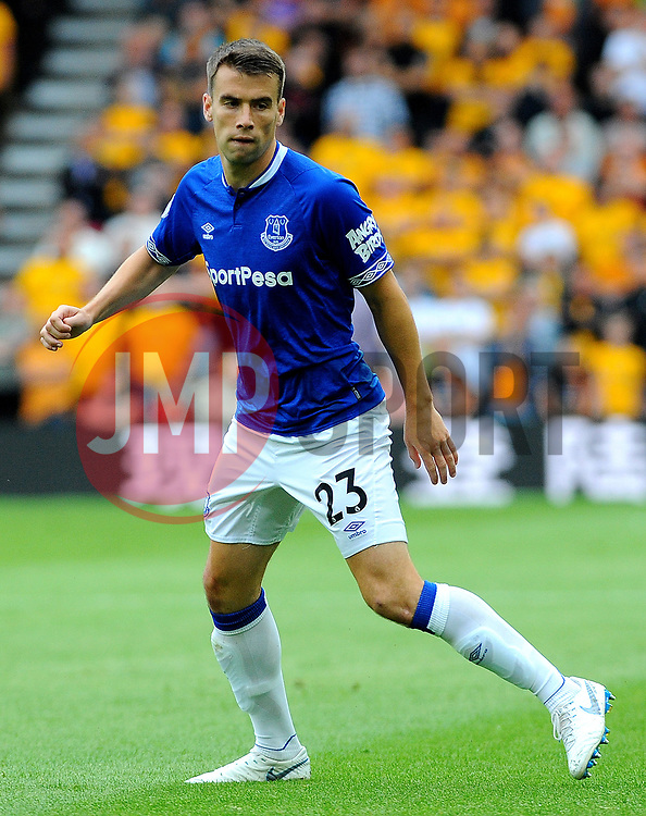 Seamus Coleman of Everton in action - Mandatory by-line: Nizaam Jones/JMP - 11/08/2018/ - FOOTBALL -Molineux  - Wolverhampton, England - Wolverhampton Wanderers v Everton - Premier League