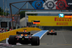 June 23, 2018 - Le Castellet, Var, France - Red Bull Racing 3 Driver DANIEL RICCIARDO (AUS) in action during the Formula one French Grand Prix at the Paul Ricard circuit at Le Castellet - France. (Credit Image: © Pierre Stevenin via ZUMA Wire)