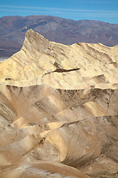 """""""Manly Beacon 2"""" - Photograph taken from Zabriskie Point of Manly Point in Death Valley, California."""
