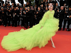 Deepika Padukone attending the Pain and Glory premiere, held at the Grand Theatre Lumiere during the 72nd Cannes Film Festival