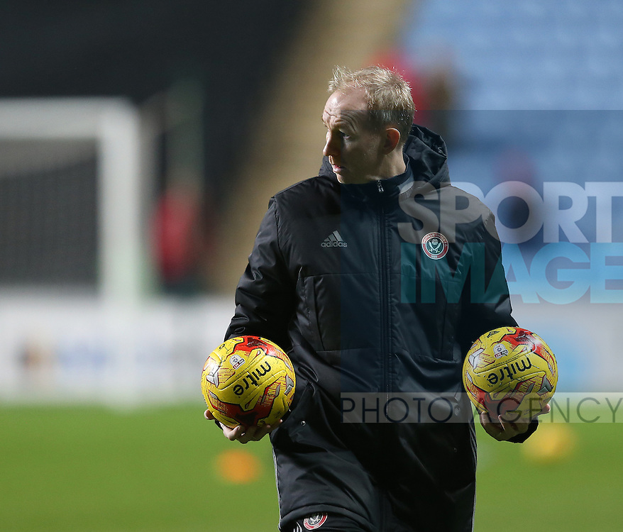 Alan Knill assistant manager during the English League One match at the Rioch Arena Stadium, Coventry. Picture date: December 15th, 2016. Pic Simon Bellis/Sportimage
