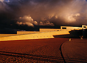 Storm over Parliament House, Canberra, Australia