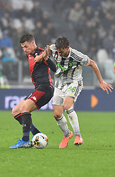 30.10.2019, Allianz Stadium, Turin, ITA, Serie A, Juventus Turin vs Genoa CFC, 10. Runde, im Bild rugani daniele // rugani daniele during the Seria A 10th round match between Juventus Turin and Genoa CFC at the Allianz Stadium in Turin, Italy on 2019/10/30. EXPA Pictures © 2019, PhotoCredit: EXPA/ laPresse/ Tano Pecoraro<br />