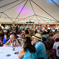 Wine tasting at Red Rock Park, Wednesday Aug. 8, 2018.
