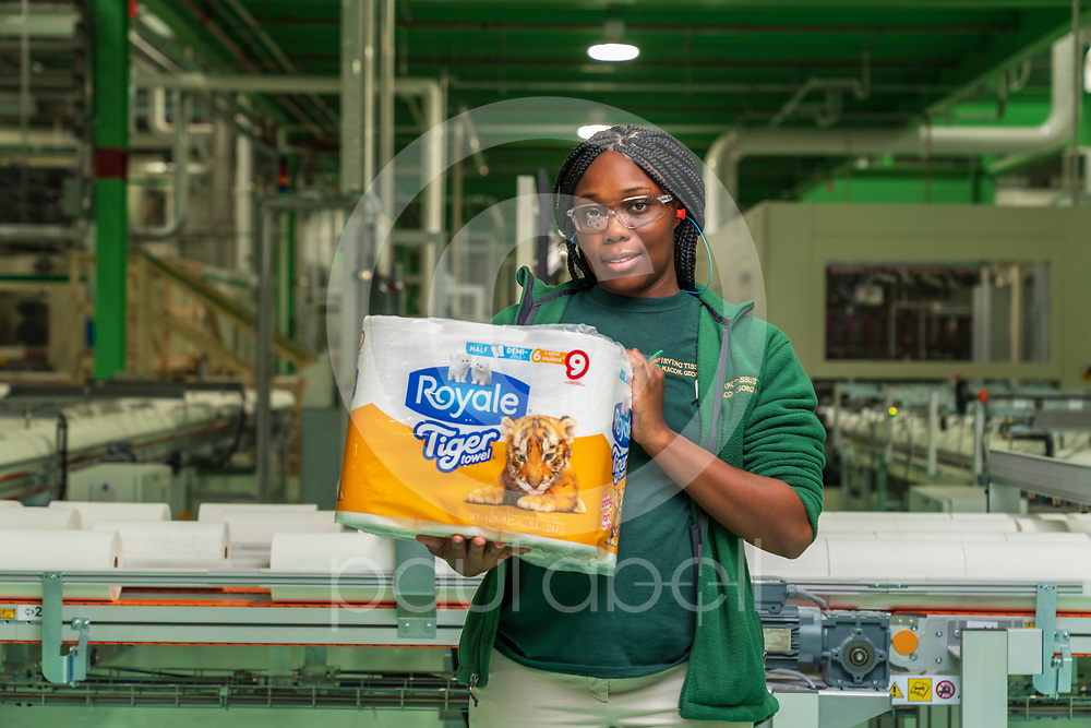 General portraits of employees at the Irving tissue plant, Oct. 11, 2019 in Macon, Ga. This imagery was taken for the grand opening event. (Paul Abell via Abell Images for Colonial Pipeline Company)