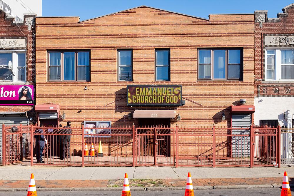 Emmanuel Church of God, 1365 Flatbush Avenue, Brooklyn.