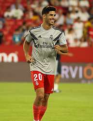 September 26, 2018 - Asensio of Real Madrid in action during the spanish league, La Liga, football match between Sevilla and Real Madrid on September 26, 2018 at Ramon Sanchez Pizjuan Stadium in Sevilla, Spain. (Credit Image: © AFP7 via ZUMA Wire)