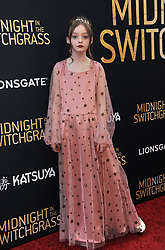 Olive Abercrombie at the Los Angeles special screening of 'Midnight In The Switchgrass' held at the Regal LA Live in Los Angeles, USA on July 19, 2021.