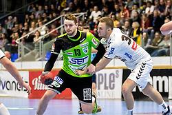 18.03.2018, BSFZ Suedstadt, Maria Enzersdorf, AUT, HLA, SG INSIGNIS Handball WESTWIEN vs HC FIVERS WAT Margareten, Bonus-Runde, 6. Runde, im Bild Olafur Bjarki Ragnarsson (SG INSIGNIS Handball WESTWIEN) // during Handball League Austria, Bonus-Runde, 6 th round match between SG INSIGNIS Handball WESTWIEN and HC FIVERS WAT Margareten at the BSFZ Suedstadt, Maria Enzersdorf, Austria on 2018/03/18, EXPA Pictures © 2018, PhotoCredit: EXPA/ Sebastian Pucher
