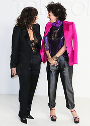 HOLLYWOOD, LOS ANGELES, CALIFORNIA, USA - FEBRUARY 07: Tom Ford: Autumn/Winter 2020 Fashion Show held at Milk Studios on February 7, 2020 in Hollywood, Los Angeles, California, United States. 07 Feb 2020 Pictured: Gina Gershon. Photo credit: Xavier Collin/Image Press Agency/MEGA TheMegaAgency.com +1 888 505 6342