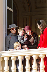 November 19, 2017 - Monte Carlo, MONACO - 19-11-2017 MonacoPrincess Caroline of Hanover and Charlotte Casiraghi and Raphael and Sacha Casiraghi and Tatiana Santo Domingo during the Monaco National Day Celebrations in Monaco...© PPE/NieboerCredit: PPE/face to face.- No rights for the Netherlands  (Credit Image: © face to face via ZUMA Press)