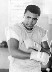 Aug. 24, 1964 - Florida, U.S. - August 24, 1964: Muhammad Ali in training. (Credit Image: © The Palm Beach Post via ZUMA Wire)