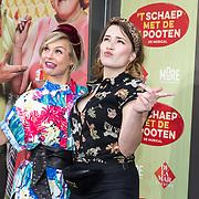NLD/Amsterdam/20190414 - Premiere 't Schaep met de 5 Pooten, Stijn Fransen en Barbara Sloesen
