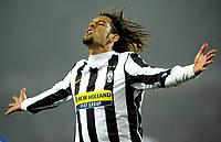 Fotball<br /> Italia<br /> Foto: Inside/Digitalsport<br /> NORWAY ONLY<br /> <br /> Amauri celebrates his 4-0 leading goal scored for Juventus.<br /> <br /> 28.10.2009<br /> Juventus v Sampdoria