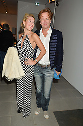 PRINCE & PRINCESS VALERIO MASSIMO at the Future Contemporaries Party in association with Coach at The Serpentine Sackler Gallery, West Carriage Drive, Kensington Gardens, London on 21st February 2015.