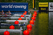 Linz, Austria, Sunday,  25th Aug 2019, FISA World Rowing Championship, Regatta, <br /> <br /> [Mandatory Credit; Peter SPURRIER/Intersport Images]<br /> <br /> 11:51:08, Sunday
