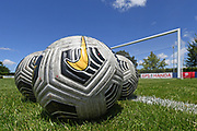 Practice balls before the Handa Premiership football match, Hawke's Bay United v Canterbury United, Bluewater Stadium, Napier, Sunday, December 06, 2020. Copyright photo: Kerry Marshall / www.photosport.nz