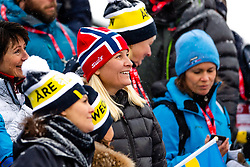 February 9, 2019 - Re, SWEDEN - 190209 Crown princess Mette-Marit of Norway at the men's downhill during the FIS Alpine World Ski Championships on February 9, 2019 in re..Photo: Joel Marklund / BILDBYRN / kod JM / 87853 (Credit Image: © Joel Marklund/Bildbyran via ZUMA Press)