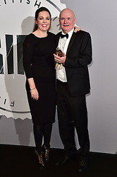 Dave Johns and Olivia Colman bei den British Independent Film Awards in London / 041216<br /> <br /> <br /> *** at the British Independent Film Awards in London on December 4th, 2016 ***