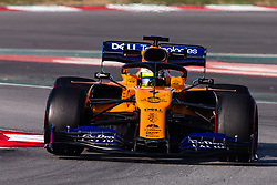 February 21, 2019 - Montmelo, BARCELONA, Spain - Lando Norris from Great Britain with 04 Mclaren F1 Team - Renault MCL34 in action during the Formula 1 2019 Pre-Season Tests at Circuit de Barcelona - Catalunya in Montmelo, Spain on February 21. (Credit Image: © AFP7 via ZUMA Wire)