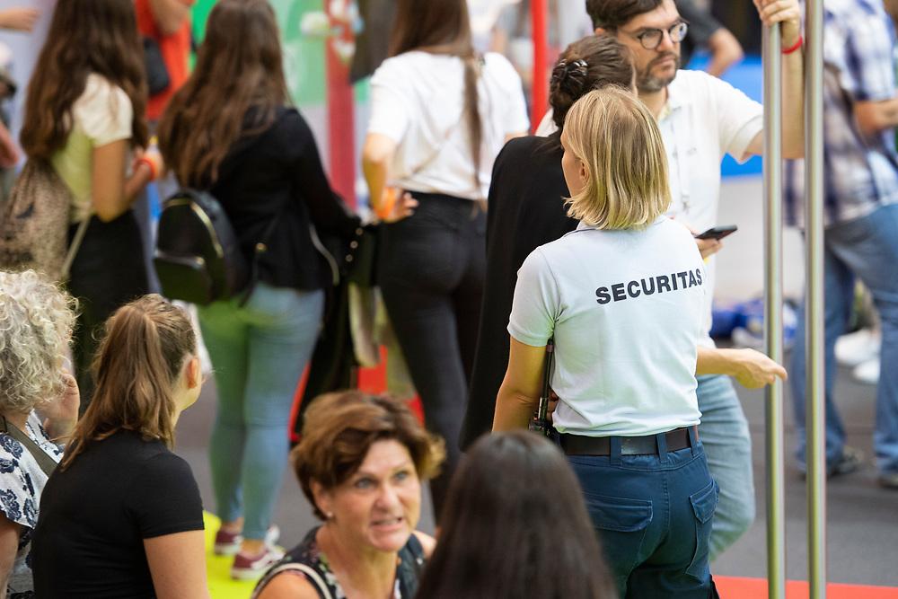 12. September 2018; Bern; swiss skills 2018  - Securitas unterwegs in den Hallen (Michael Zanghellini)