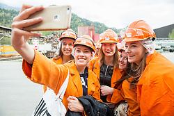 Official photo shoot of Miss Sporta Slovenije 2016 at iron factory SIJ, on April 23, 2016 in Jesenice, Slovenia. Photo by Vid Ponikvar / Sportida
