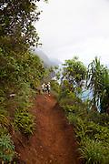 Napali Coast Trail, Kauai, Hawaii