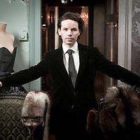 Belgian fashion designer Bernard Depoorter<br /> Photo: Ezequiel Scagnetti