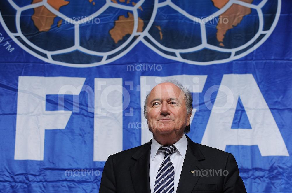 Fussball International FIFA Club WM Japan 2008     20.12.2008 Pressekonferenz Exekutivkomitee FIFA Praesident Joseph S. Blatter