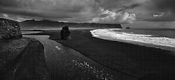 The beach at Reynisfjara, south Iceland - Reynisfjara við Dyrhólaey