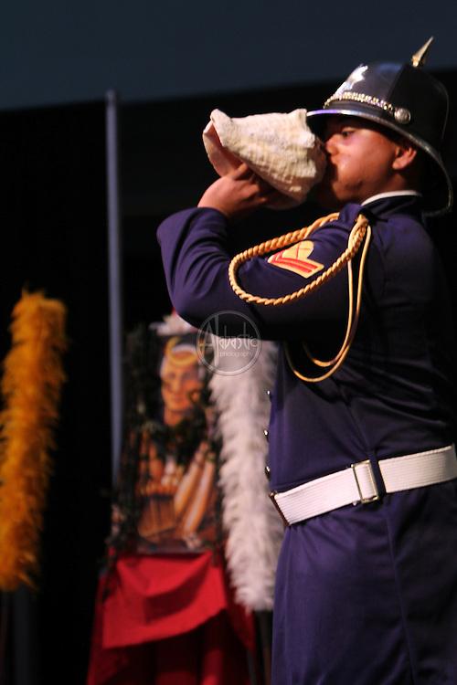 Live Aloha Hawaiian Cultural Festival 2012. Royal Hawaiian Guard.