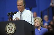Democratic Presidential Candidate Hillary Clinton in Scranton