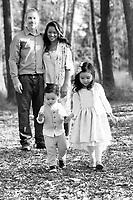 1 December 2017: Logan, Abigail, Jade (3) and Locke (1) Freeburg in Tustin, CA. ©ShellyCastellano.com