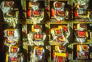 Prayer books, Pangboche monastery below Mt Everest, Sagarmatha National Park, World Heritage Site, Nepal