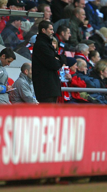 Photo: Andrew Unwin.<br />Sunderland v Southampton. Coca Cola Championship. 11/11/2006.<br />Sunderland's Roy Keane.
