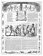 Punch Almanack 1846 April