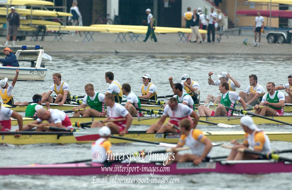 Poznan, POLAND.  2006, FISA, Rowing World Cup the   'Malta Regatta course;  Poznan POLAND, Sat. 17.06.2006. © Peter Spurrier   ....[Mandatory Credit Peter Spurrier/ Intersport Images] Rowing Course:Malta Rowing Course, Poznan, POLAND