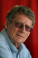International bestselling South African author André Brink is pictured at the Edinburgh International Book Festival prior to talking about his new novel Praying Mantis. The Edinburgh International Book Festival is the world's largest literary event, with over 500 authors from across the world participating each year and ran from 13-29 August. Edinburgh was named the world's first UNESCO City of Literature in 2004.