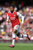 Football - 2019 Emirates Cup - Arsenal vs. Lyon<br /> <br /> Arsenal's Reiss Nelson in action during this afternoon's game, at the Emirates Stadium.<br /> <br /> COLORSPORT/ASHLEY WESTERN