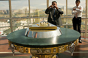 Inside of Bayterek Tower, landmark of Astana, Kazakhstan