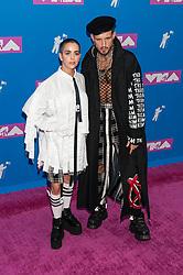 August 21, 2018 - New York City, New York, USA - 8/20/18.Nico Tortorella at the 2018 MTV Video Music Awards at Radio City Music Hall in New York City. (Credit Image: © Starmax/Newscom via ZUMA Press)